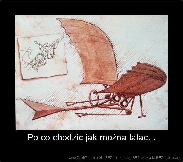 ZrobDemota.pl - Po co chodzic jak można latac.