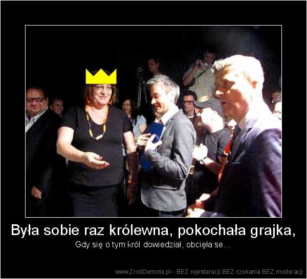 ZrobDemota.pl - Była sobie raz królewna, pokochała grajka, Gdy się o tym  król dowiedział, obcięła se… a7201fd93709