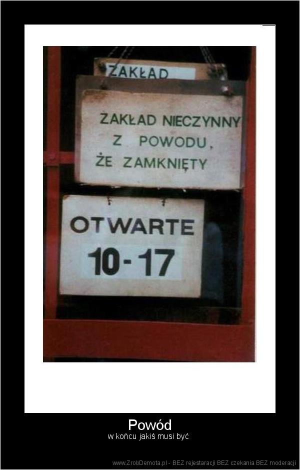 ZrobDemota.pl - Powód w końcu jakiś musi być 9402ed92baa